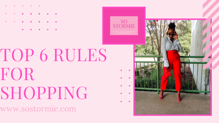 Top 6 Rules forShopping